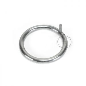 Bull Nose Ring Stainless Steel 58 mm Dia